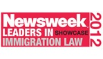 Newsweek 2012 Leaders in showcase Immigration Law